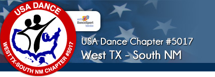 USA Dance (West TX, South NM) Chapter #5017